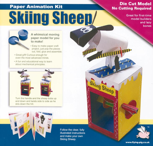 303016 - Rob Ives - Skiing Sheep