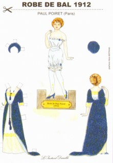 k6049 - Robe de bal Paul Poiret (1912)