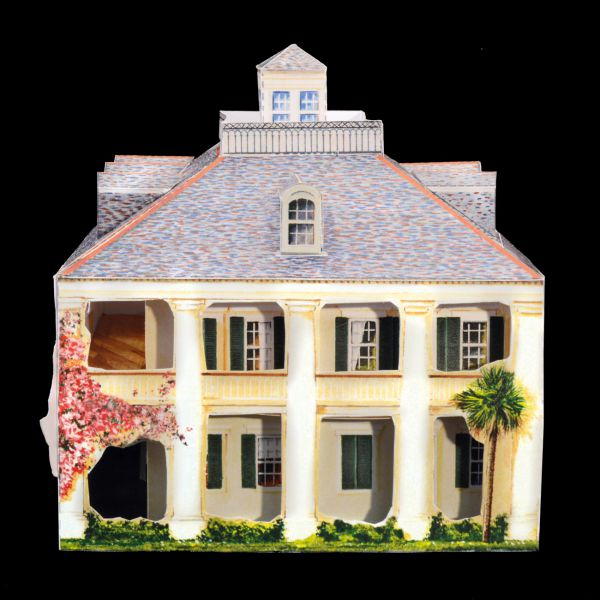 pm7a - Maison de plantation - Greek Revival
